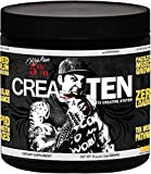 Rich Piana 5% Nutrition CreaTEN 10 Creatine System (Mango Pineapple) 8.14oz (231 Grams) 30 Servings