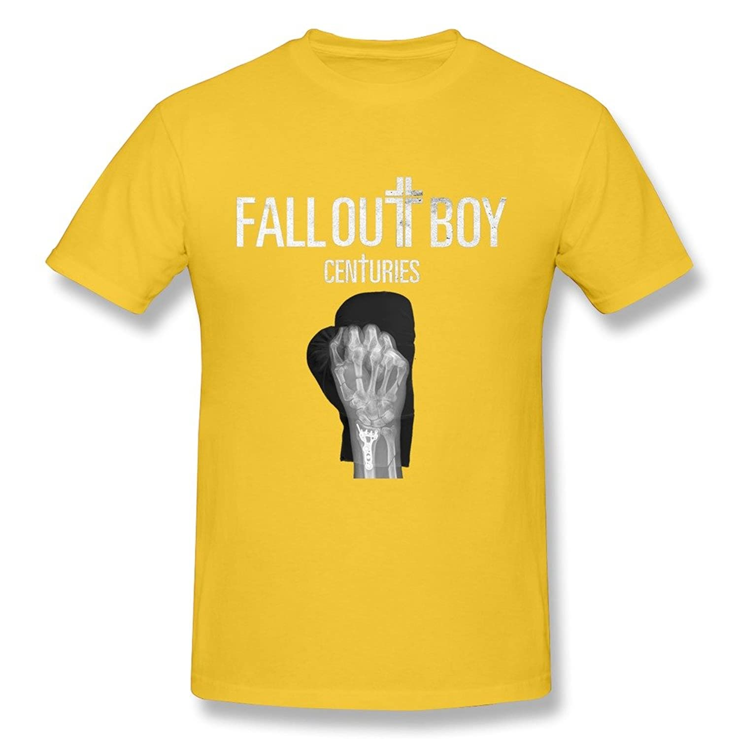 8baf6e0e Amazon.com: HANJ Fall Out Boy World Tour 2016 T Shirt For Men Black:  Clothing