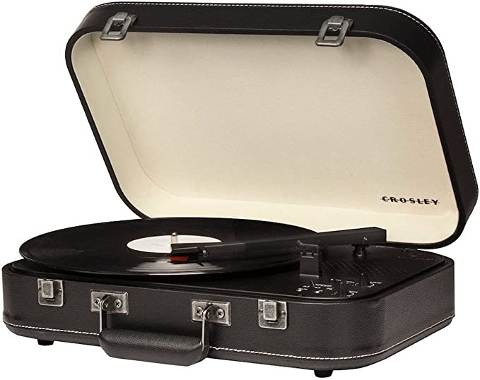 Crosley - Tocadiscos Crosley Coupe Cr6026A Bluetooth Negro: Amazon ...