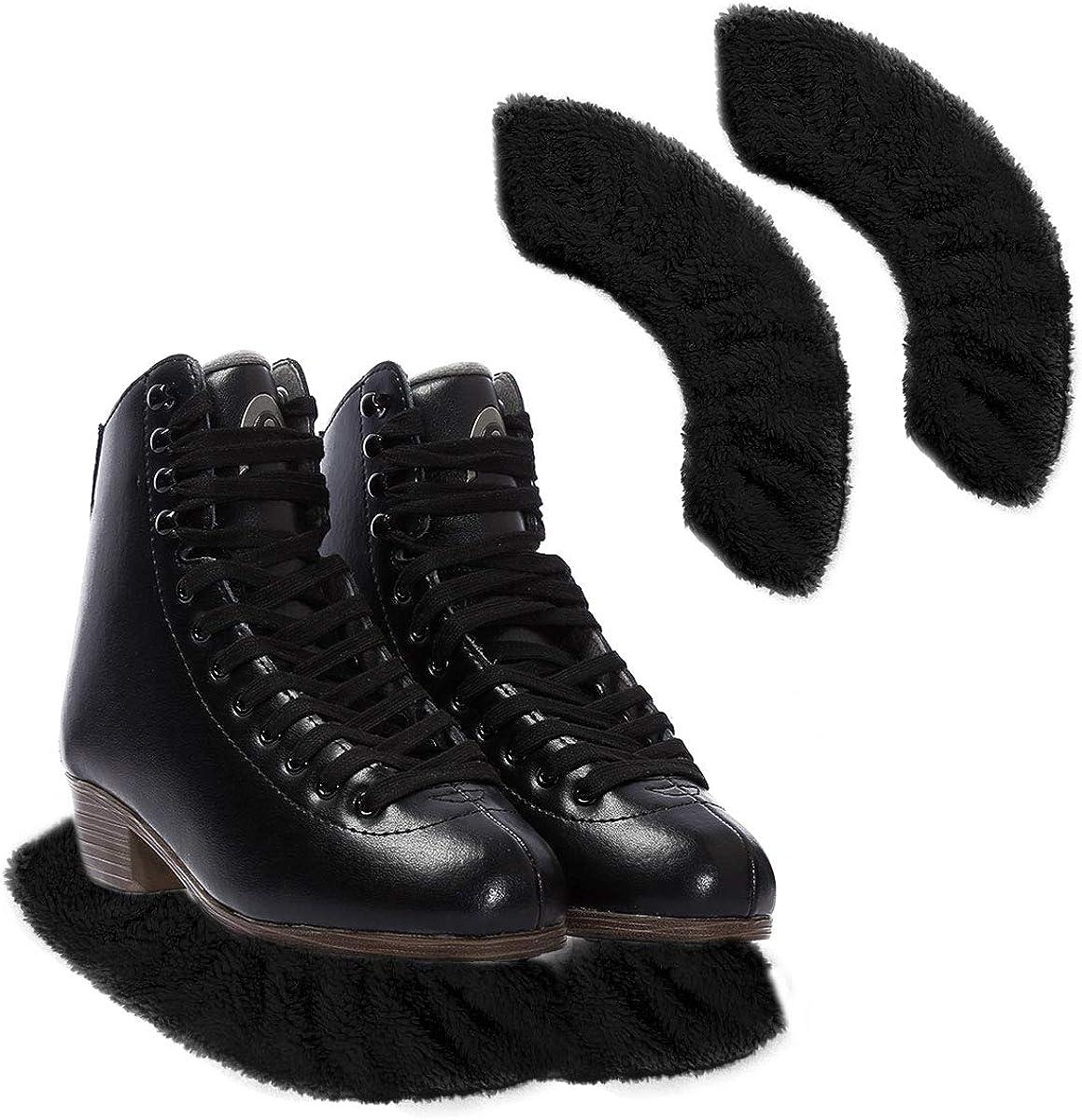 ranrann Prot/ège-lames pour Chaussures de Patinage Patins /à Glace Protection Anti-rouille Couvre-lames Fournitures Patinage Hockey sur Glace Protection Couverture Elastique