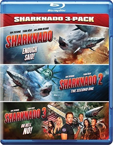 Sharknado Triple Feature Edizione: Stati Uniti Italia Blu-ray ...