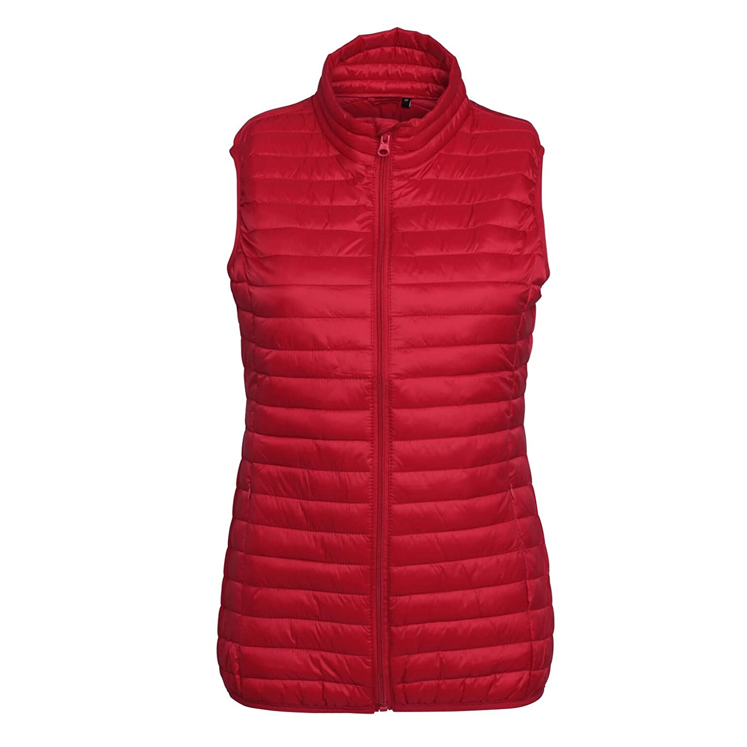 2786 Women's Full Zip Lightweight Padded Tribe Fineline Quilted Gilets XS-2XL