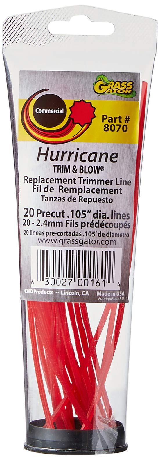 Grass Gator 8070 Hurricane Replacement .105 Line
