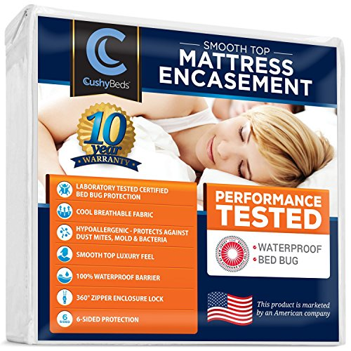 Smooth Mattress Encasement Protector CushyBeds product image