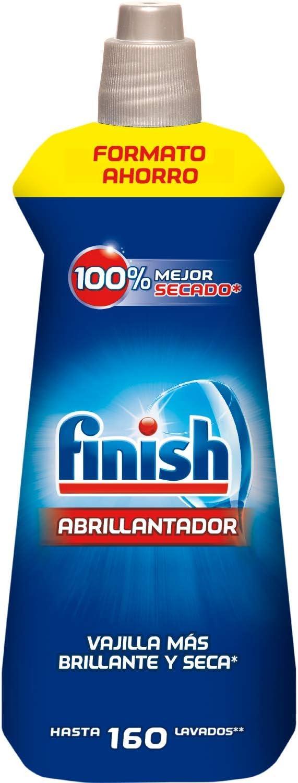 Finish Abrillantador Lavavajillas Regular, 800 ml, 160 dosis