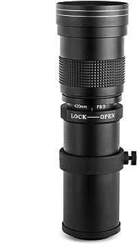 420-800mm F//8 Telephoto Lens for Sony E-Mount NEX7 NEX5 A6000 A6300 A6500 A7 A9