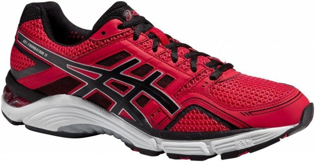 Asics Gel-Foundation 11 2E T2A2N2399 – Zapatillas de running, color rojo, hombre, rojo, 48: Amazon.es: Deportes y aire libre