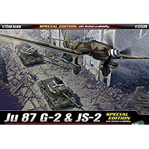 1/72 Ju 87 G-2 & JS-2 #12539 ACADEMY SPECIAL EDITION 9