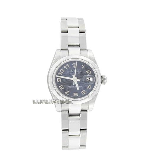 Rolex Datejust 179160 - Reloj de pulsera hembra automático, diseño con certificado de autenticidad: Rolex: Amazon.es: Relojes
