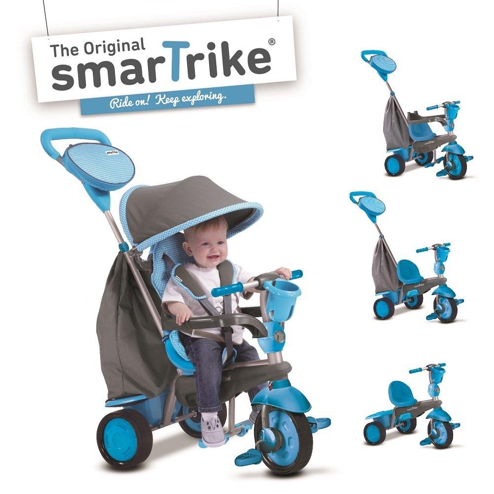 Smart Trike Swing triciclo evolutivo para niños de  meses color azul