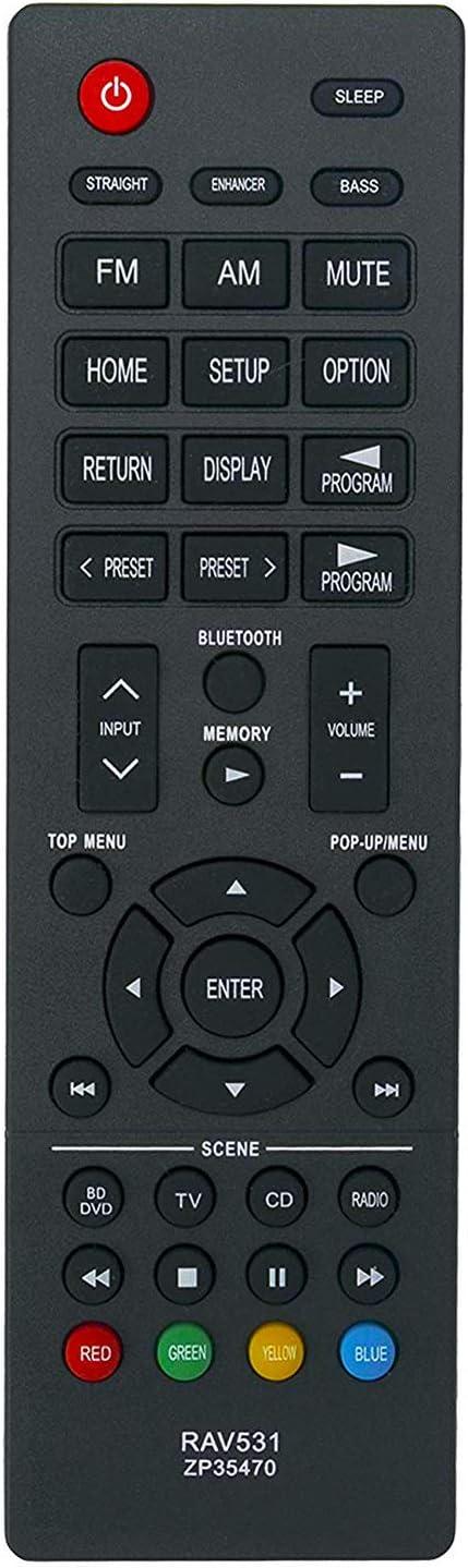 Control remoto RAV531 ZP354700 Yamaha HTR-3068 HTR-4068