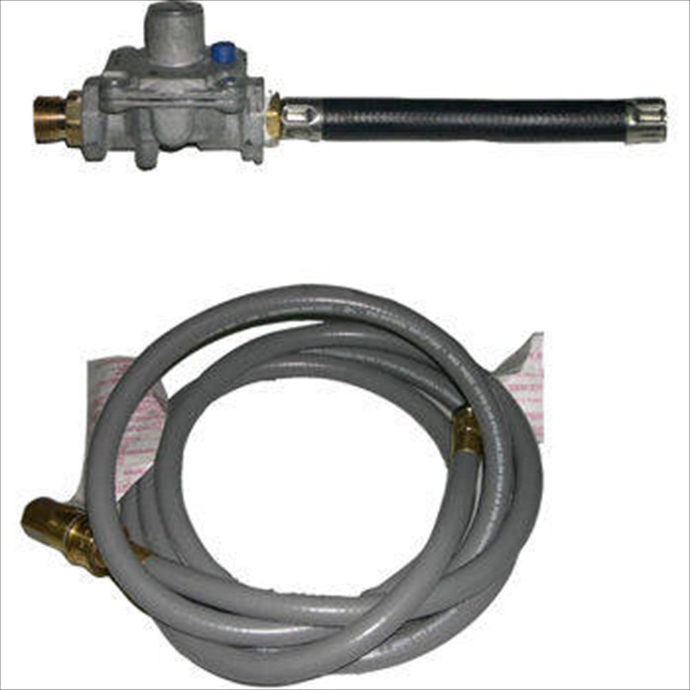 Universal Natural Gas Hose & Regulator Set, For Grills with 90,000 BTU's Or Less
