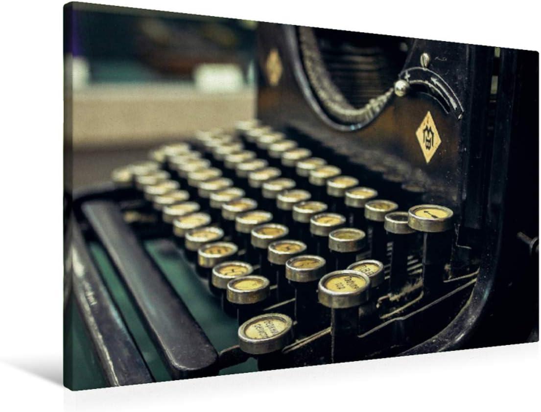 Calvendo Máquina de Escribir Antigua de Hierro Fundido, 90x60 cm