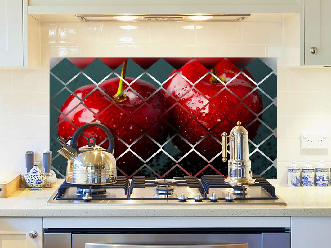 Buy Divinedesigns Apples Duos Kitchen Sticker Kitchen Wall Covering Area 91cm X 61cm Online At Low Prices In India Amazon In