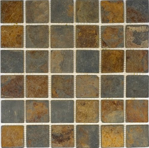 Epoch Tile SU2X2 2x2 Sunsets Tumbled Slate