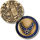 Armor of God High Relief - Air Force Challenge Coin