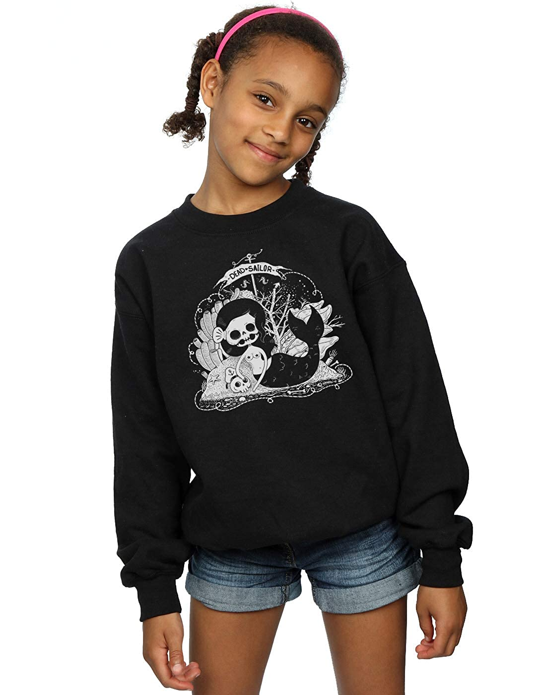 Pepe Rodriguez Girls Dead Mermaid Sweatshirt