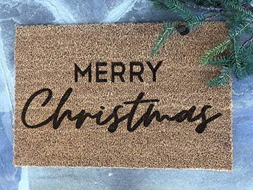 Amazon Com Merry Christmas Minimalist Southern Farmhouse