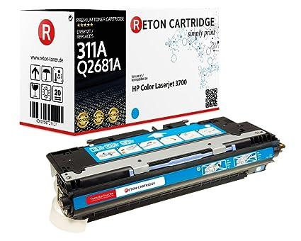 Original reton Toner, compatible, Set 4 Color Para HP 3750 N ...
