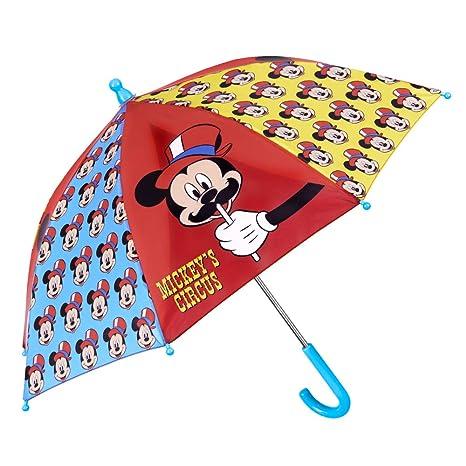 Paraguas Infantil Mickey Mouse - Paraguas Niño Estampado Disney ...