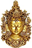 Wall Hanging Tara Mask - Brass Sculpture