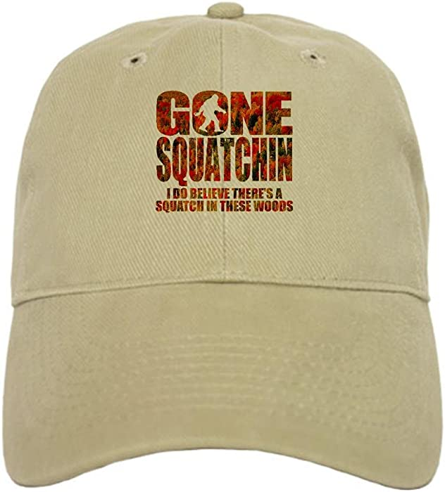 d0c005d76de8c CafePress - Gone SquatchinFall Foliage Forest Edition Baseb - Baseball Cap  with Adjustable Closure
