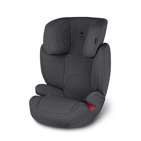 CBX Solution 2 - Silla de coche para niños, grupo 2/3 (15-36 kg), desde los 3 hasta los 12 años aprox., sin ISOFIX, color Comfy Grey