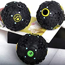 GigaMax(TM)New Squeaky Feeding Food Ball Pet Dog Voice Sound Ball Toy Pets Training Tool Funny Products,L