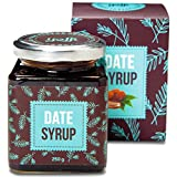 Yoffi Natural Dates Syrup 8.8 Ounce - Vegan Friendly