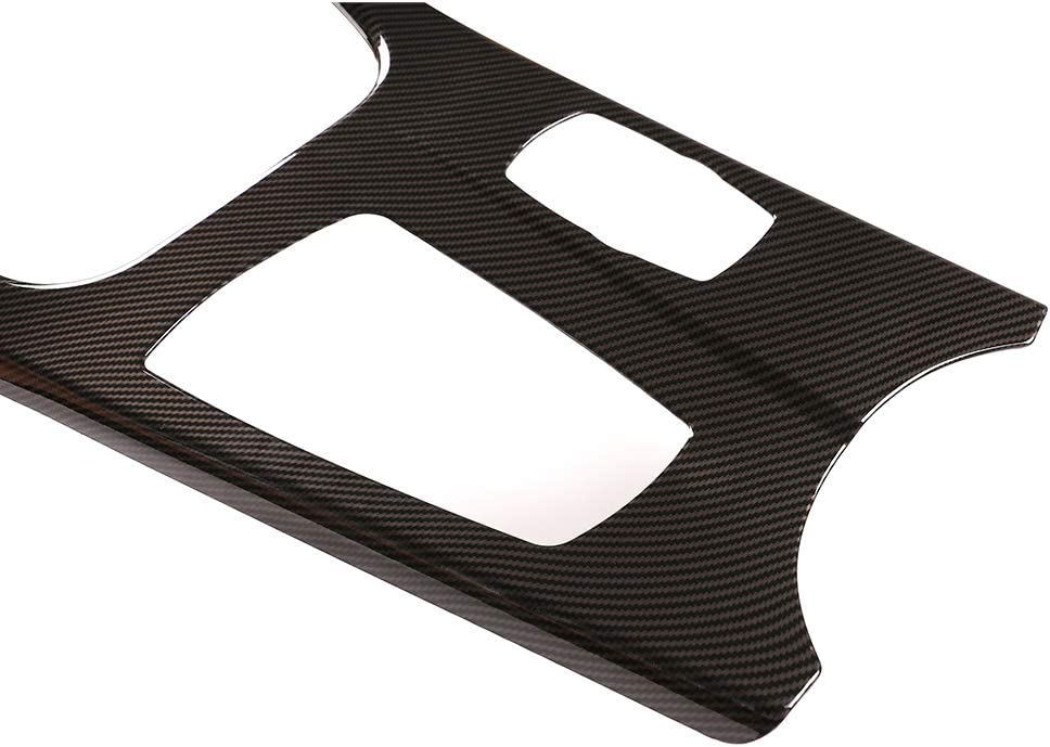 YIWANG Carbon Fiber Style ABS Car Center Console Protection Panel Cover Trim for BMW X3 X4 F25 F26 2013-2017 Left Hand Drive Auto Accessories
