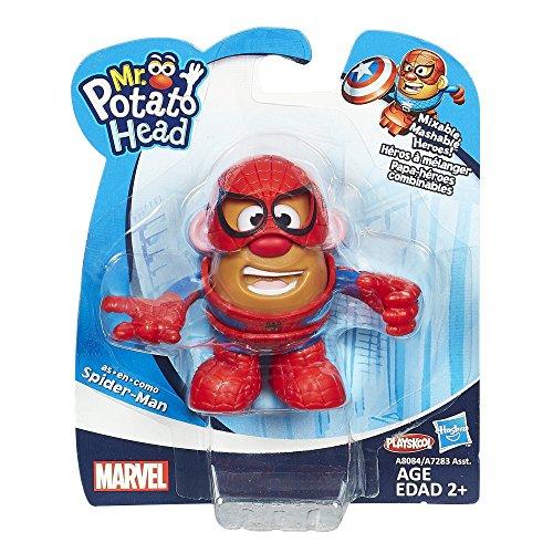 Spider Man Mr Potato Head (Mr. Potato Head Spider-Man Mixable Mashable Heroes Mr. Potato Head as Spider-Man Figure)