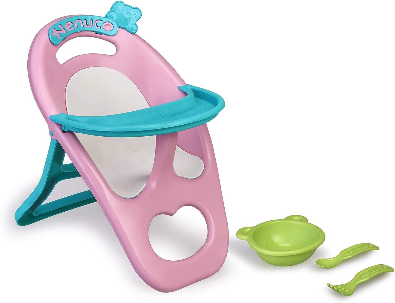 Nenuco de Famosa- Accesorio Trona para muñecos bebé niñas a Partir de 1 año (700015617)