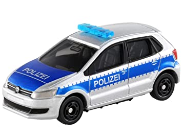 Tomica No.109 Volkswagen Polo patrulla de mosquitos - (BP): Amazon ...