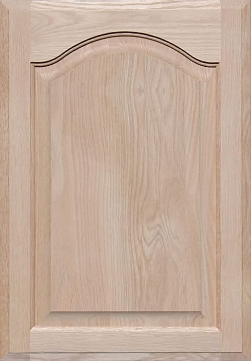 Square with Raised Panel by Kendor Unfinished Maple Cabinet Door 23H x 16W