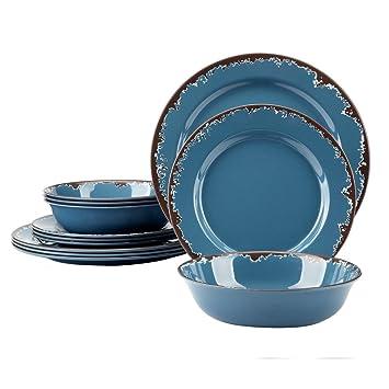 Melamine Camping Dinnerware Set