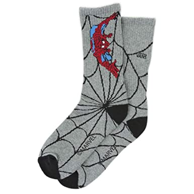 Vans Socken X (Marvel) Spiderman Crew Heather Grey: Amazon