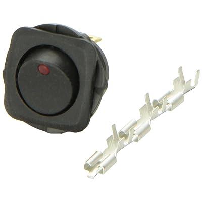 HELLA H61924001 Switch Rocker SPST LED Red: Automotive