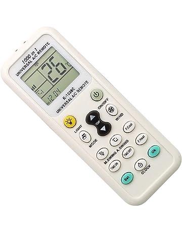 Coyaho Universal Air Conditioner Remote Control for Daikin, Hitachi, Mitsubishi, Carrier, Panasonic
