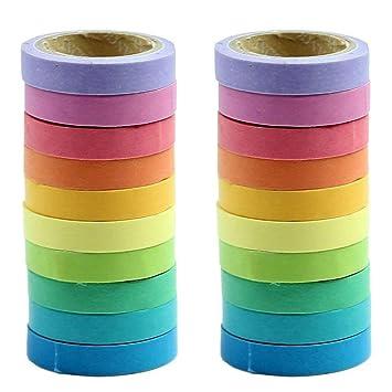 Ieebee Washi Tape Set 40 Rollen Dekorative Maskierung Diy Bänder Für Kinder