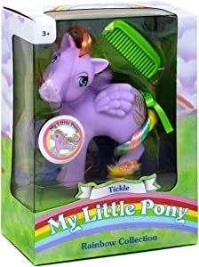 My Little Pony 35276 My Classic Rainbow Ponies-Tickle Collectible, Multicolour