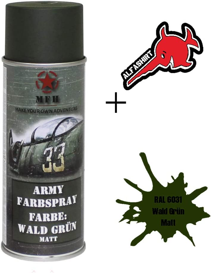 Pintura en lata Army mate verde bosque 1 L