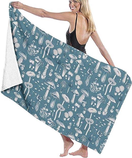 Dora Will Toalla de Playa Champiñones Azules Manta de Playa Grande Secado rápido Toalla Extra Absorbente sin Arena: Amazon.es: Hogar
