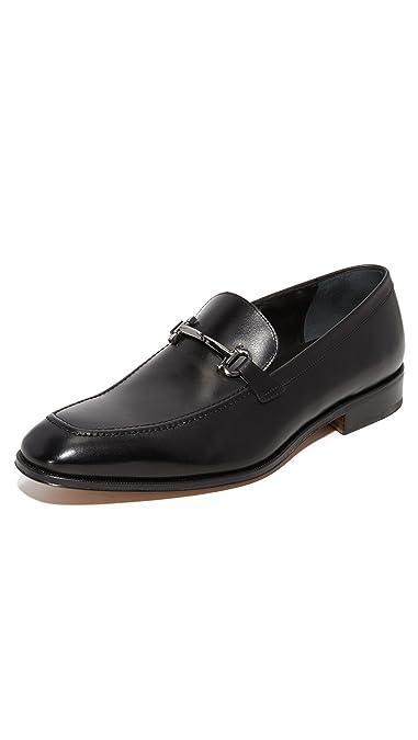 f167f68753b Amazon.com  Salvatore Ferragamo Men s Fenice Apron Toe Bit Loafers  Shoes
