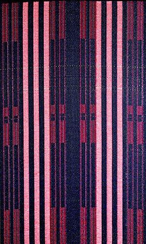 (b.b.begonia Brick Lane Stripes Contemporary Reversible Design 5' x 8' Blue Red Rectangle Outdoor Rug Mat Polypropylene Camping, Patio, Deck, Pool Area, Yard, Picnic)