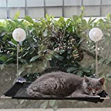 MEWTOGO Cat Window Seat Perch Sill Mounted Bed-Single Level