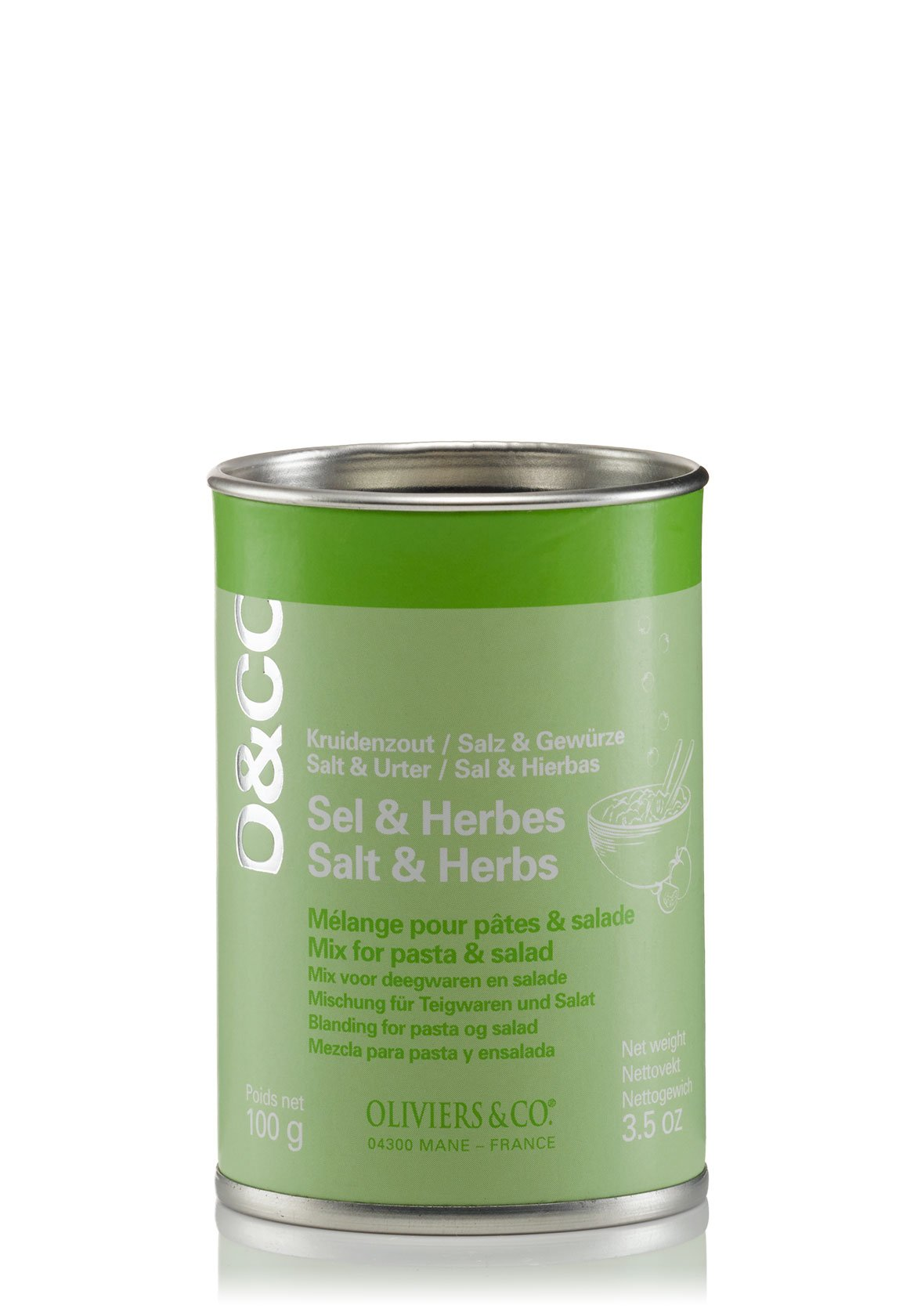 Oliviers & Co Salt & Herb Mix for Pasta and Salad