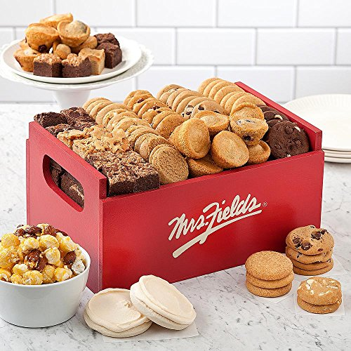Shari's Berries - Mrs. Fields Classic Crate - 48 Count - Gourmet Baked Good Gifts