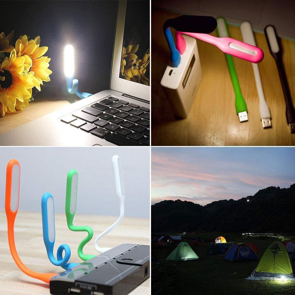 reading light with eye protection function blue and green 2 pcs USB LED light