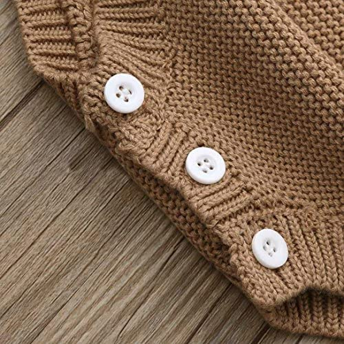 XEDUO Children Kids Baby Girls Outfit Button Knitted Sweater Cardigan Coat Clothes