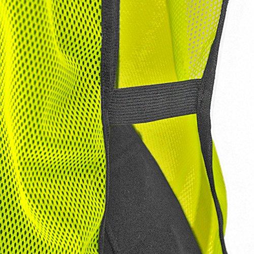 JORESTECH Emergency High visibility safety vest with reflective stripes (50 Vest, Yellow) by JORESTECH  (Image #4)